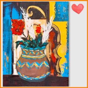 تابلو نقاشی خیریه دیابت