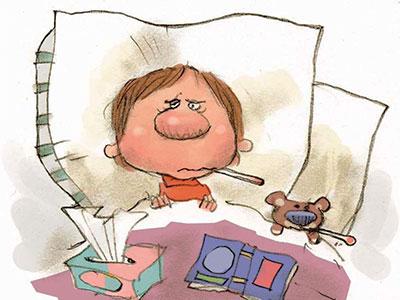 دیابت سرماخوردگی و آنفولانزا